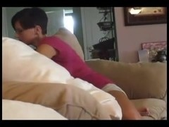Awesome milf fucks with her husband