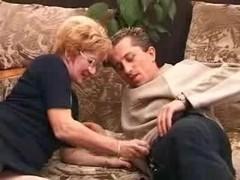 Granny Satisfies a Stud,creampie