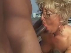 Mature Chick With Tats Fucks A Black Cock