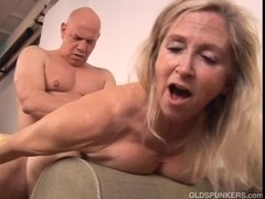 Pretty aged blond Annabelle Brady can't live without to fuck