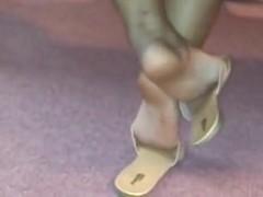 My girlfriend Candid Feet 1