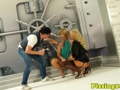 ### fetish glamour models doused in ###