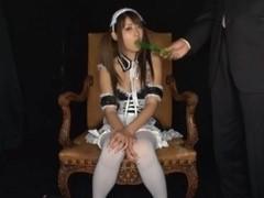 Horny Maid Hitomi Kitagawa Gets A Facial While In Uniform