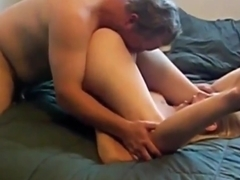 Lucky Husband Cuckod Films His Naughty Wife with Her Boss