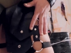 Sensual Abella Danger cosplays while fucking her man