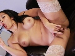 Mia Li is Always Horny & Needs Slut Training - BrainWashedTeens