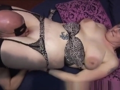 Pale mature and her MILF friend take on cocks