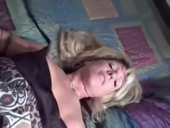 PT Bewitching golden-haired wife and BBC