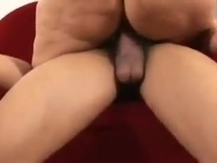 Chubby cunt creampied