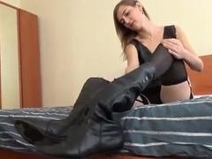 russian mistress use lesbian foot slave