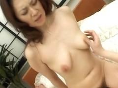 Mina Toujou Horny housewife enjoys sex