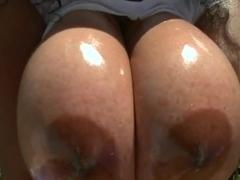 Hard dick for big tits babe Dinara