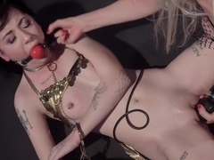 Trick or Treat: 19 year old fucked and punished!