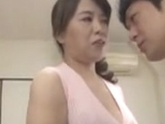 Japanese mother and young Cumshot