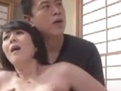 Japanese Wife  Gets Fucked By Boss Again