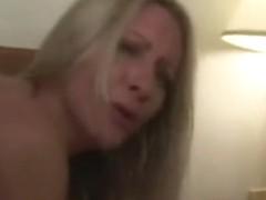 Wife mlfs crying hard rough bib black cock hotel gangbang