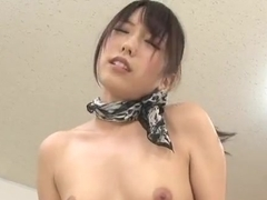 Chika Arimura Asian babe in a mini skirt craves hard cock