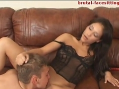 Brutal-FaceSitting Video: Yana Nevskaya