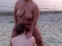 beach sex cuckold