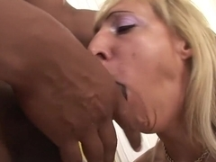 Incredible pornstar Kristina Dark in amazing blonde, interracial adult video