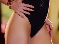 Best pornstar in Horny Striptease, Softcore sex scene