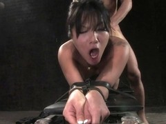 Mr. Pete Asa Akira in Asa Akira: First Time Fucked in Bondage - SexAndSubmission