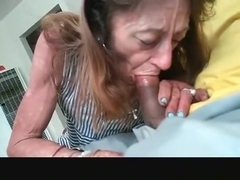 Leggy Blonde Trina Michael Pulled Out Black Dick to Give Sloppy Head