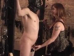 Miranda Rider has him strung up for play