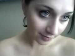 My favorite amateur sex webcam girl plows her slit