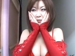 Crazy Japanese girl Rio Hamasaki in Incredible Blowjob JAV scene