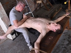 Vibrating The Cum From His Cock - Eli Manuel - Boynapped