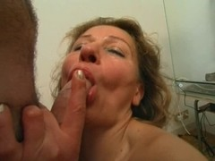 older italian mama screwed