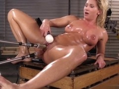 Helene Henriks Playing With Her Fucking Machine
