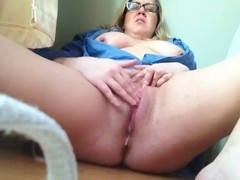 Lustful big beautiful woman on livecam