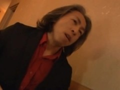Wild Fucker Rola Aoyama DPed After Her Bartender Shift