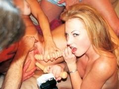 Trish Gets Anal Slammed By Hunky Ramon