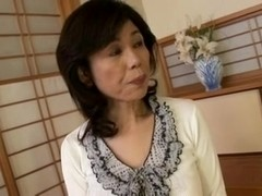 Breasty Japanese granny screwed inexperienced
