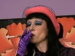 Trinity-Productions: Smoking Satin Milf