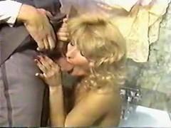 Sheri St. Claire, John Holmes, Jon Martin in vintage sex movie