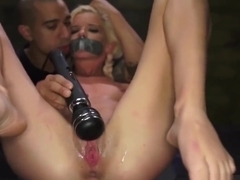 Teen extreme insertion Halle Von is in town on vacation with her