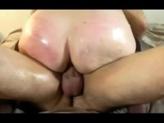 SlutWife Used Hard by 2 Men - Bareback Threesome