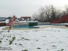 NudeFightClub presents Snowy fun