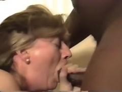 Blonde wife's BBC hotel fun