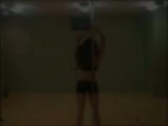 Mi amiga ensenando . Friend Teaching me how to dance