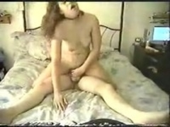 Reverse sex makes gal cum