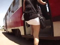 Street voyeur recorded a chick with a sexy behind