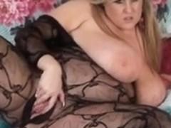 Leah Jayne Crotchless Body Stocking
