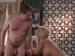Hot blonde milf, Alexis Fawx is fucking her young lover, in the middle of the day