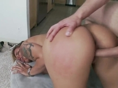 Busty Anita Toro found a pretty boy and fucked him hard