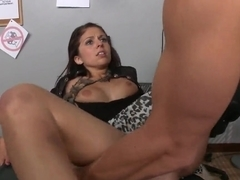 Johnny Sins licking & banging Madelyn Monroe